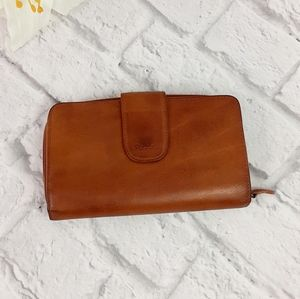 Rolfs brown leather wallet